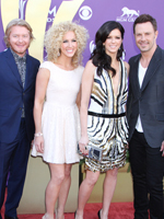 Little big town shot the video for their latest single sober