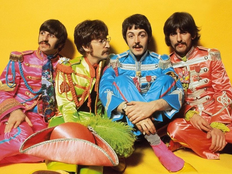 Flashback: The Beatles' 'Sgt. Pepper' Album Cover Shoot | Vermilion County  First