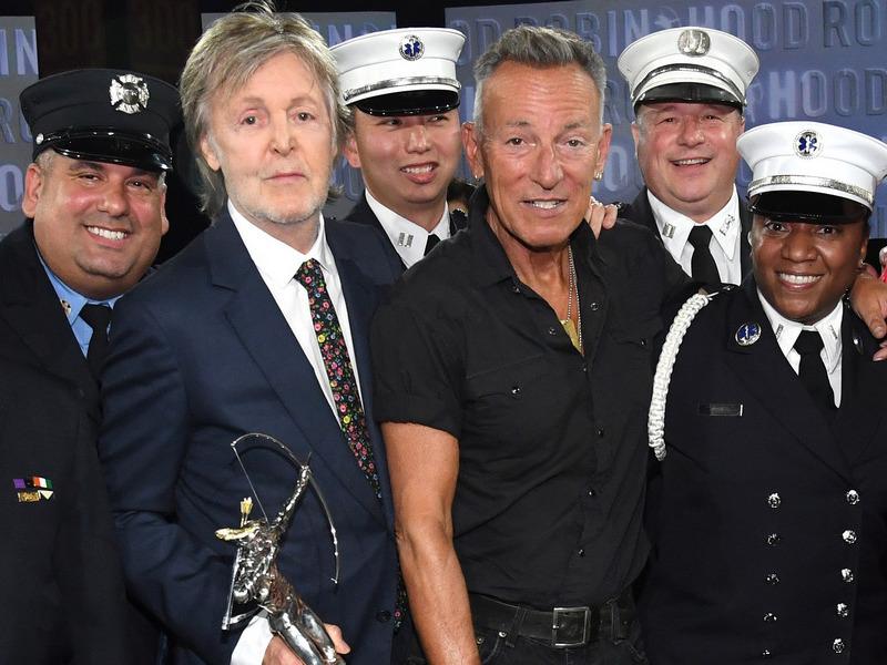 Paul McCartney & Bruce Springsteen Help Raise $77.5 For The Robin Hood Foundation